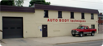 AUTO BODY techniques building